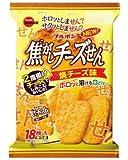 ブルボン 焦がしチーズせん焼チーズ味 18枚×12袋