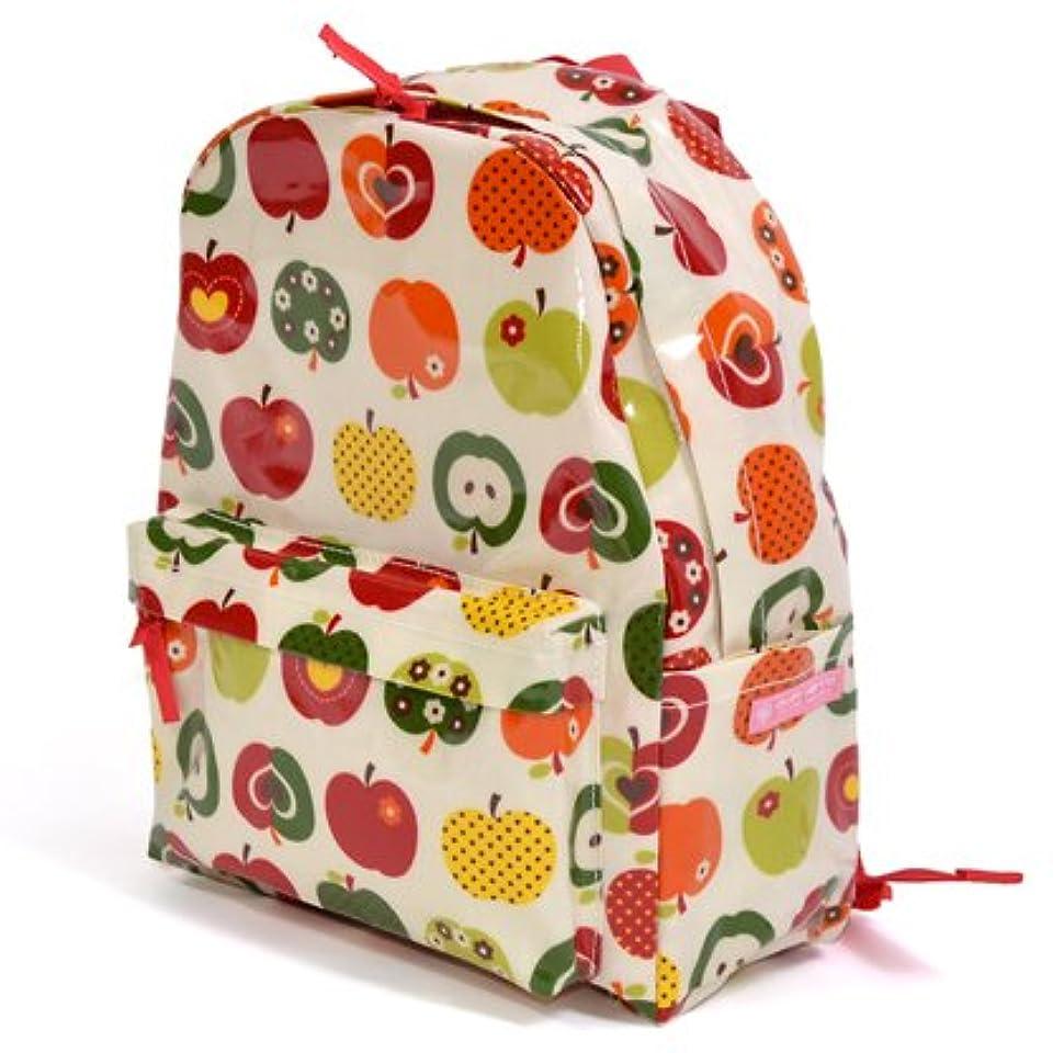 外交官予測胃リュックサック おしゃれリンゴのひみつ(アイボリー) N0729100