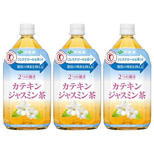 伊藤園 2つの働き カテキンジャスミン茶 1.05L 1セット 3本