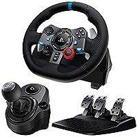 Logitech G29 Driving Force Feedback Racing Wheel S…
