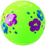 キャスコ(Kasco) ゴルフボール レディース KIRA SWEET フラワー柄 4個入り フラワーライム