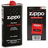 【おすすめセット】ZIPPO Zippo オイル缶 1個 + ZIPPO オイルライター 交換用コットン & フェルト 1個