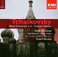 Tchaikovsky: Piano Concertos 1-3, Concert Fantasy, Op. 56 by Peter Donohoe (2004-06-01)