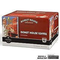 Donut Houseライトローストコーヒー( 80K-cups )