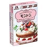 森永製菓 モントン スポンジケーキミックス <ショコラ> 165g