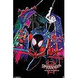 Marvel(マーベル) Spider-Man: Into the Spider-Verse(スパイダーマン: スパイダーバース) Group ポスター [並行輸入品]