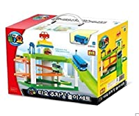 [ Set ] Tayo The Little Bus Chibikko Bus Parking Lot Play Set Round And Round駐車場Play Set [並行輸入品]