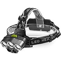 Chenci ヘッドライト LEDヘッドランプ ズーム機能搭載 90°角度調整可能 USB充電式 超高輝度 軽量 防水 登山 アウトドア作業 夜釣り