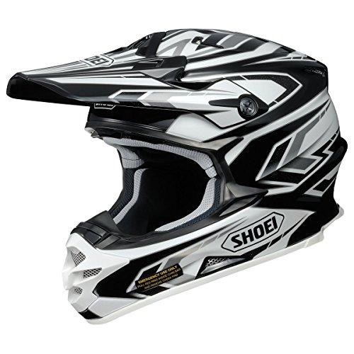 Shoei ショウエイ VFX-W BLOCK PASS Helmet 2015モデル オフロード ヘルメット レッド/ホワイト/イエロー M(57~58cm)