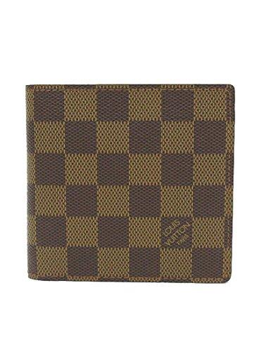 LOUIS VUITTON(ルイヴィトン) ダミエ ポルトフォイユマルコ 二つ折り財布 N61675 【ブランド財布】 【中古】