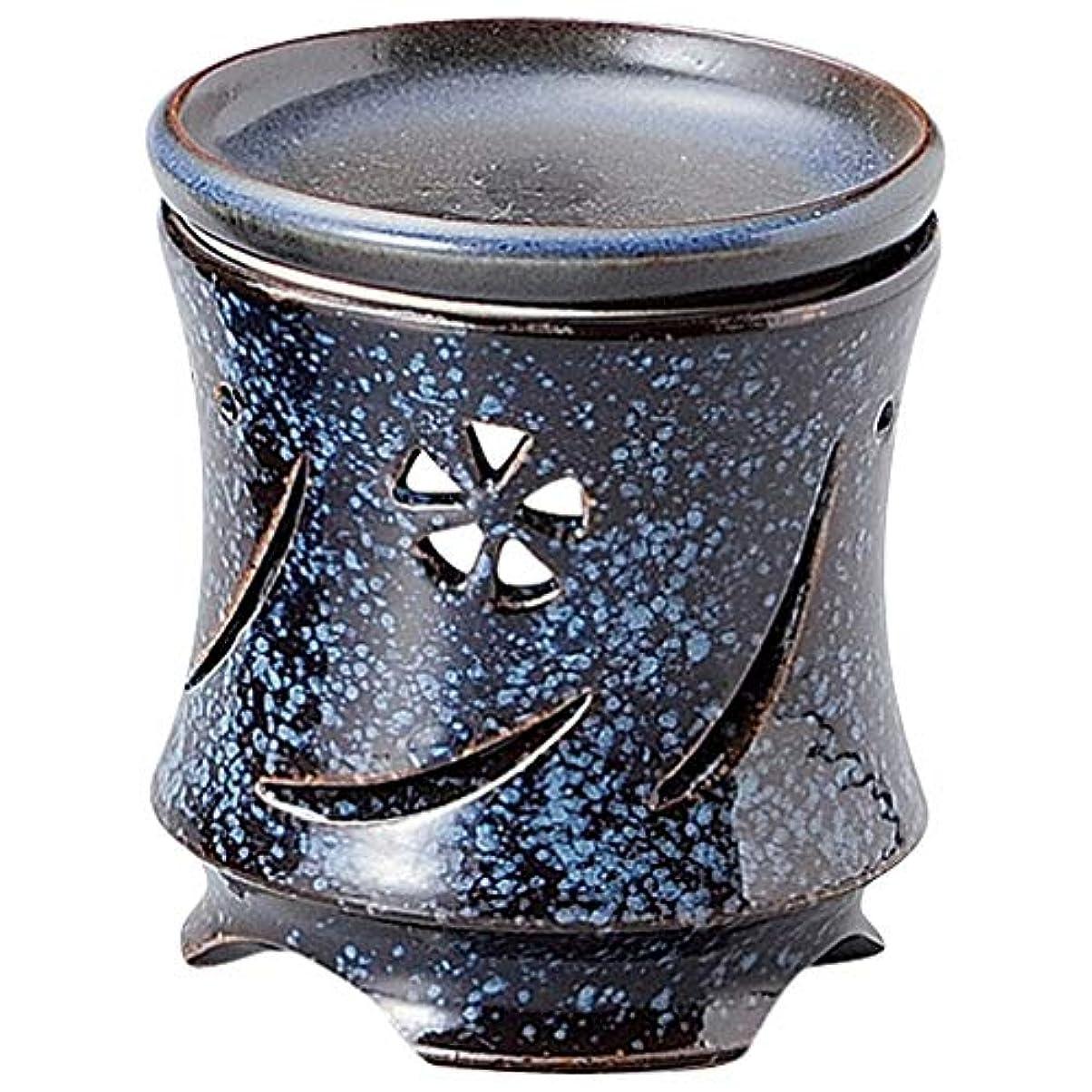 挽く支払い静かに常滑焼 G1702 茶香炉  径9.5×10.5cm