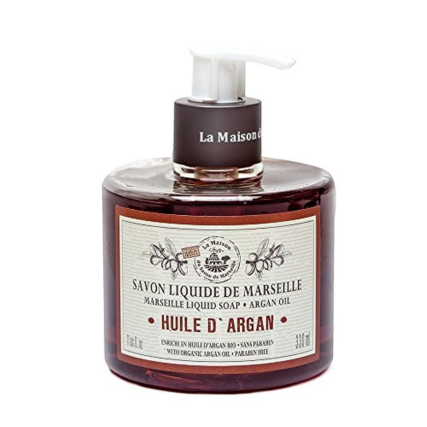 ハイライトまとめる乳Savon de Marseille Liquid Soap,Organic Argan oil 330ml