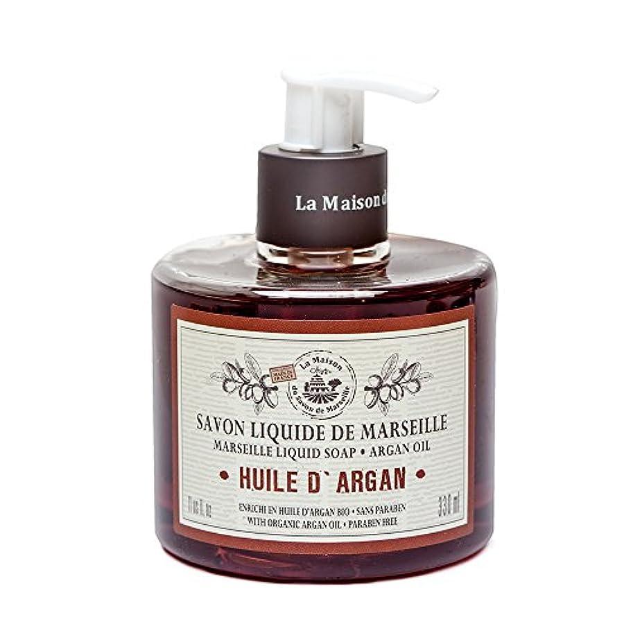 アンデス山脈人道的囲いSavon de Marseille Liquid Soap,Organic Argan oil 330ml