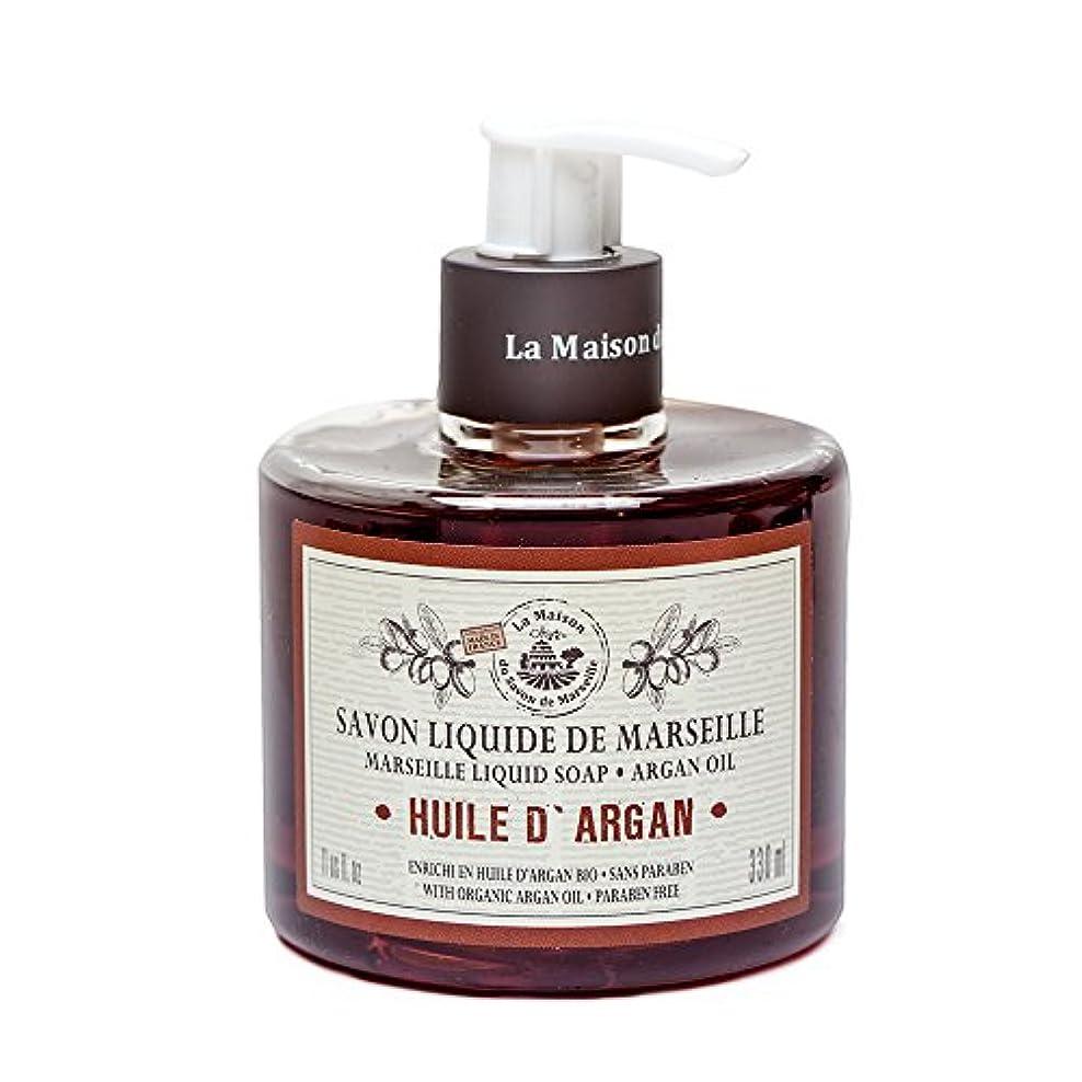 に頼る不調和イースターSavon de Marseille Liquid Soap,Organic Argan oil 330ml
