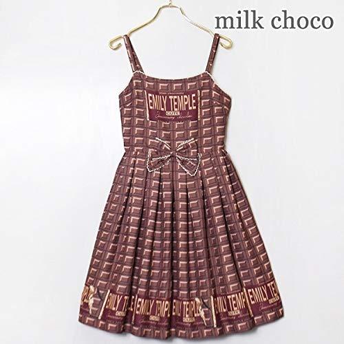 エミリーテンプルキュート(Emily Temple cute) anniv.チョコレートキャミソールワンピース