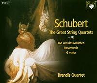 シューベルト:弦楽四重奏曲集(2枚組)/Schubert: The Great String Quartets