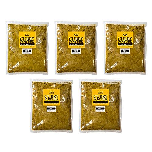 無塩 カレー粉 5kg (1kg×5袋) カレーパウダー 神戸アールティー