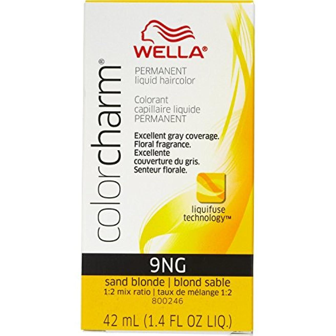 話す驚き花弁Wella 砂のブロンド色のチャーム液体パーマネントヘアカラー
