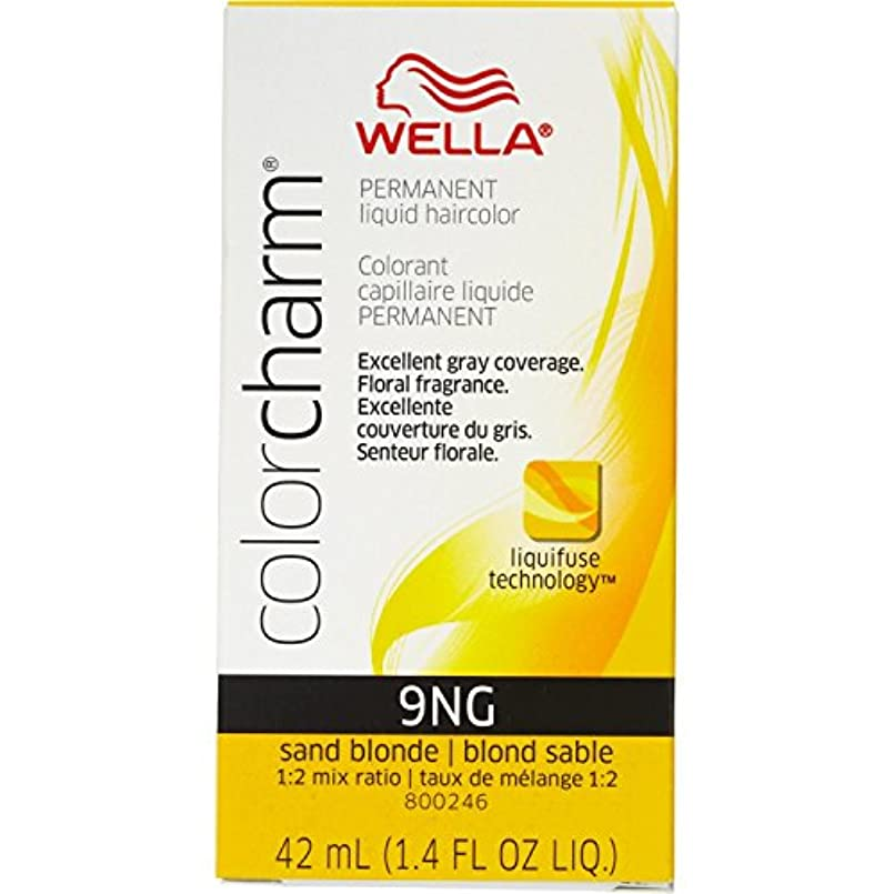 おめでとう爆発する取得Wella 砂のブロンド色のチャーム液体パーマネントヘアカラー