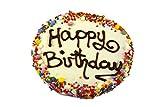 犬用おやつ オーストラリア産手作り健康クッキーケーキ お誕生日おめでとう! (ヨーグルト味)
