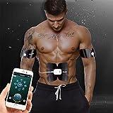 リスネコ(Lisnec)EMS腹筋ベルト フィットネスマシン トレーニングパッド 自動的に腹筋トレーニング?お腹 腕部 強さ15段階調節 8モード USB充電式 男女兼用 日本語取扱説明書が付き