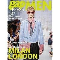 2018 S/S gap PRESS MEN vol.50 MILAN / LONDON (gap PRESS Collections)