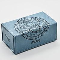 MTG スリーブ カードボックス スリーブ ボードゲームカードケースコンテナーカードコレクションTCGスリーブデッキケースの魔法の収集 (ブルー)