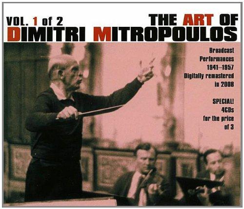 「ミトロプーロスの芸術第1集 1941-1957放送録音集」