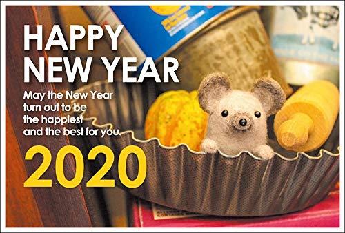 【10枚入り】令和2年(2020年)用 子年 パック年賀状 フォトデザイン年賀状 PE469AM
