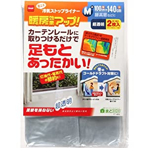 ニトムズ 冷気ストップライナー超透明2枚入り Mの関連商品1