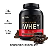 Optimum Nutrition Gold Standard Whey, Double Rich Chocolate, 80 Ounce