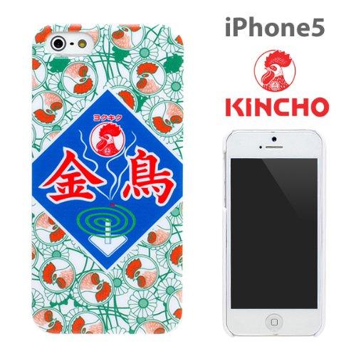 [SoftBank/au iPhone 5専用]企業コラボ企画 大日本除虫菊ハードケース(キンチョー)