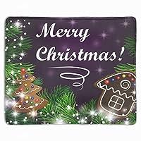 マウスパッド 滑り止め 30×25cm ゲームに適用 クリスマスクッキー オシャレ レディース メンズ 子供 ゴム 実用性 パソコン対応