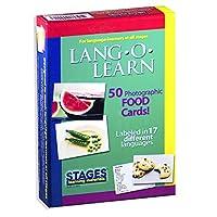Stages LearningマテリアルVocabularyフォトカードFlashcardsの英語、スペイン語、フランス語、ドイツ語、イタリア語、中国& More SLM-LL-001