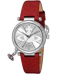 [ヴィヴィアン・ウエストウッド]VivienneWestwood 腕時計 オーブII シルバー文字盤 VV006SSRD レディース 【並行輸入品】