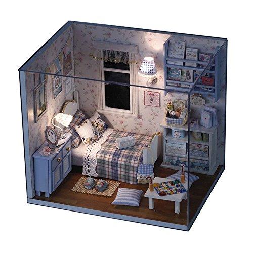GutMai 手作りハウスキット、ひとり暮らし西洋風部屋、木...