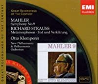 Mahler: Symphony No. 9 / Strauss: Metamorphosen, Tod und Verklarung