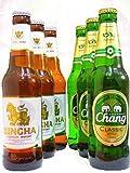 ビールセット タイビール(チャーン&シンハー) 330ml×6本飲み比べビールセット