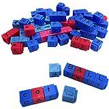 ETA hand2mind Alphabet and Phonemic Awareness Linking Letter Cubes (Set of 82 )