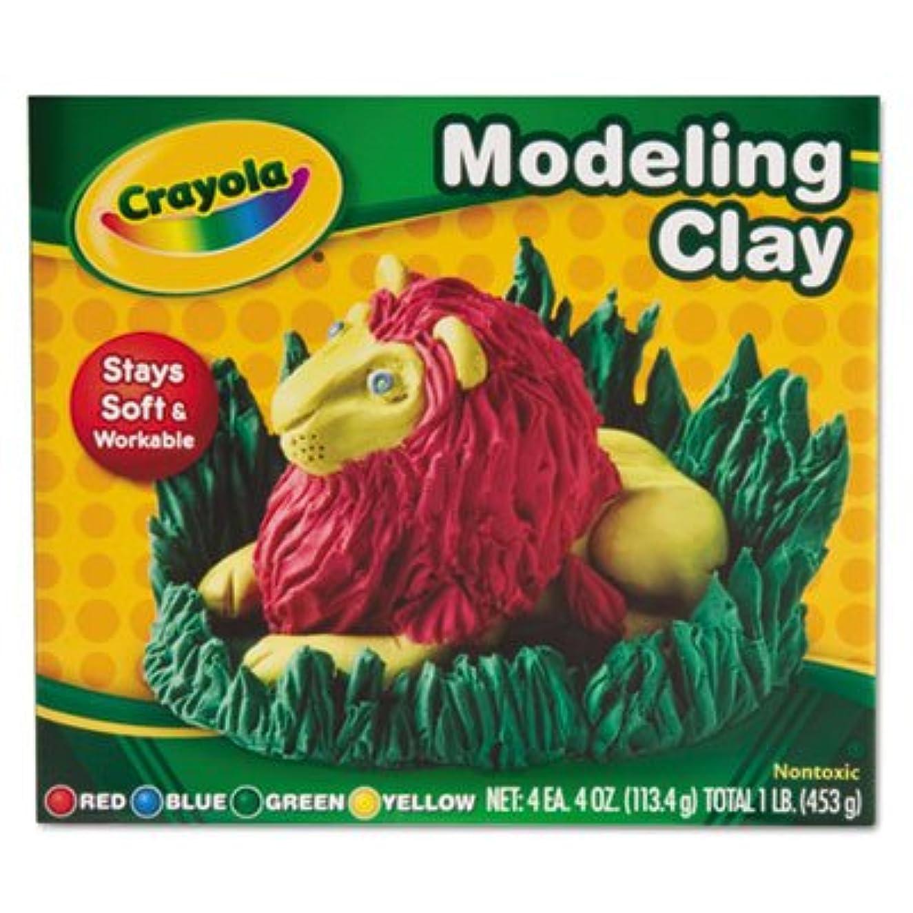 Crayola 57-0300 モデリングクレイ アソートカラー 4個