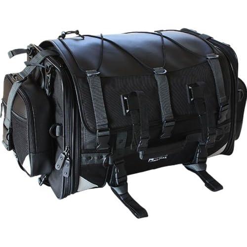 タナックス(TANAX) キャンピングシートバッグ2 モトフィズ(MOTOFIZZ) ブラック MFK-102 (可変容量59-75?)