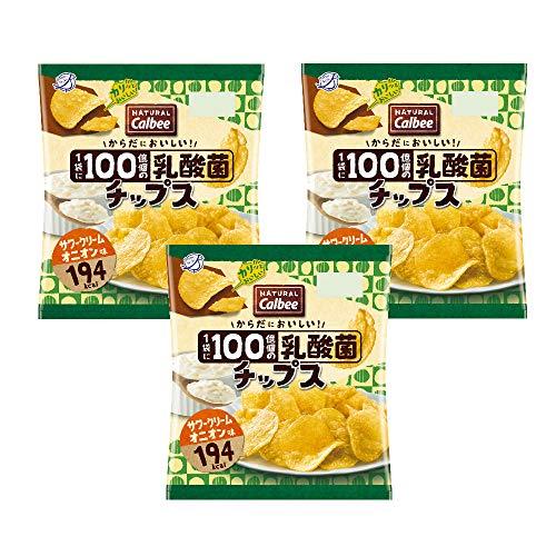 カルビー NaturalCalbee(ナチュラル・カルビー)乳酸菌チップスサワークリームオニオン味 1セット(12袋)