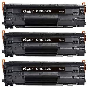 【3本セット】Canon キャノン CRG-326 汎用トナー 高品質 互換トナーカートリッジ 印刷枚数:2100 対応機種:LBP6240、LBP6230、LBP6200 【Kingjet】