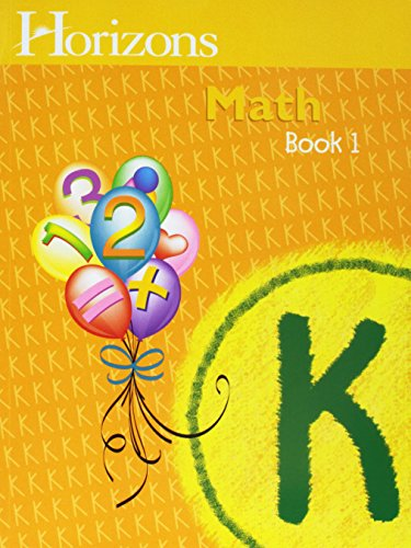 Download Horizons Mathematics Kindergarten Complete Set (Lifepac) 0740303139