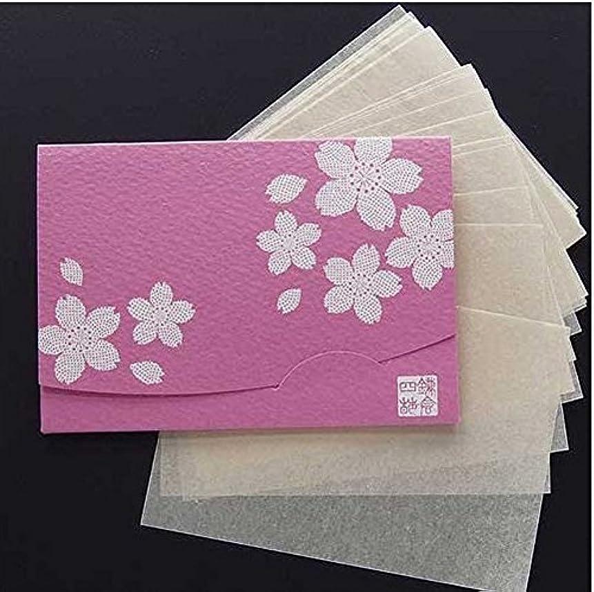 リネンギャラントリードラム季節の花  桜 「絹すき」 短冊サイズ