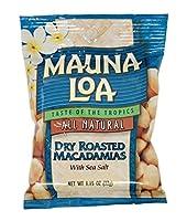 マウナロア 塩味 マカデミアナッツ Sサイズ 32g×6袋
