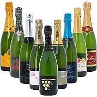 本格シャンパン製法だけの厳選泡9本セット((W0S904SE))(750mlx9本ワインセット)