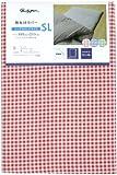 メリーナイト 敷布団カバー 「ギンガム」 シングルロング レッド PC13101-13