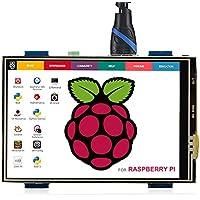 ELECROW 3.5インチ HDMI液晶モニター 480x320解像度 タッチスクリーン 小型 LCDディスプレイRaspberry Pi 3 2 B+ B A+/Banana Pi対応
