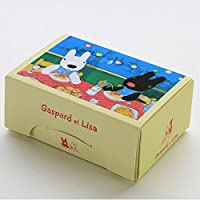 ペーパーランチボックス2枚入 リサとガスパール(スパゲッティ)
